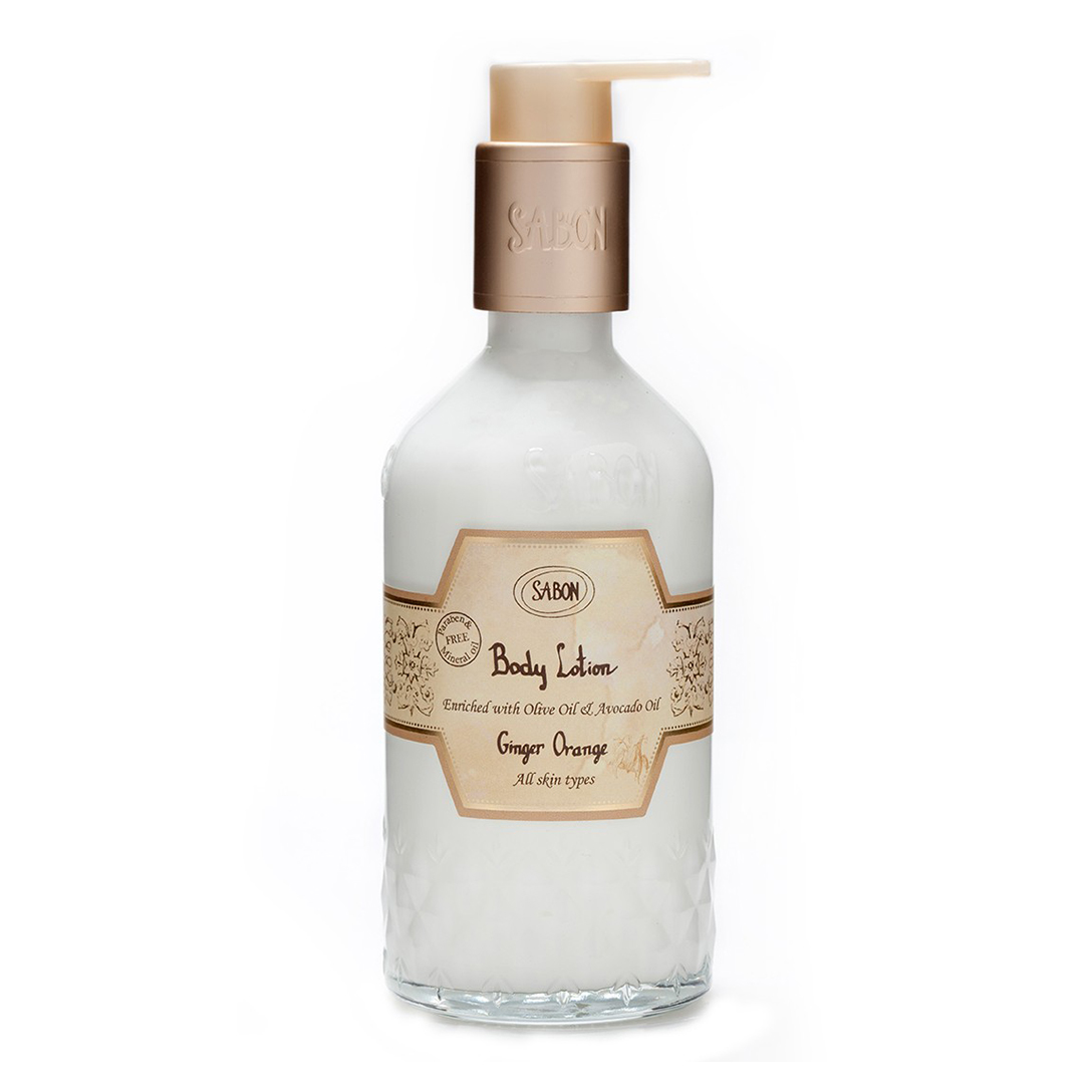 Body Lotion Bottle - Ginger Orange