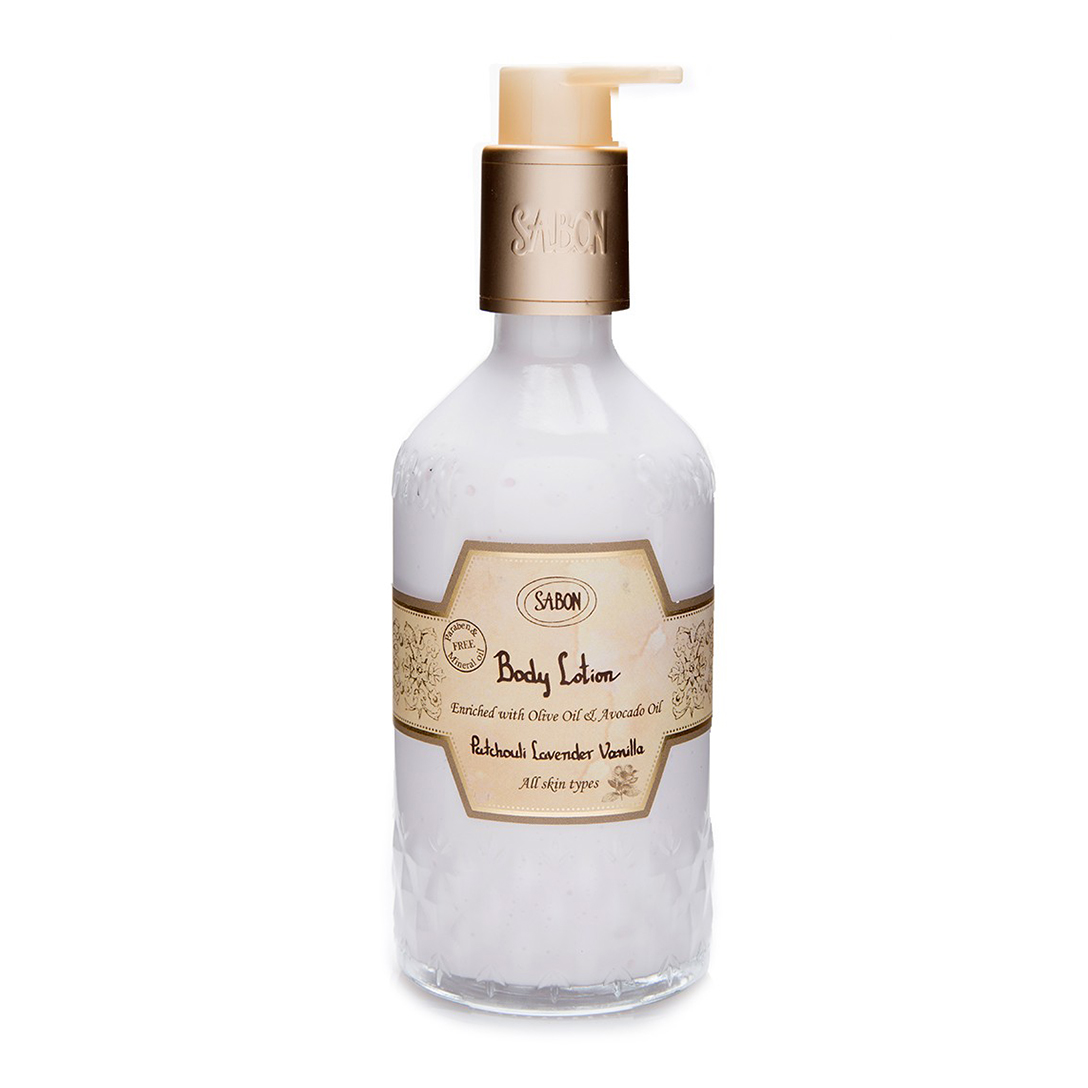 Body Lotion Bottle - Patchouli Lavender Vanilla
