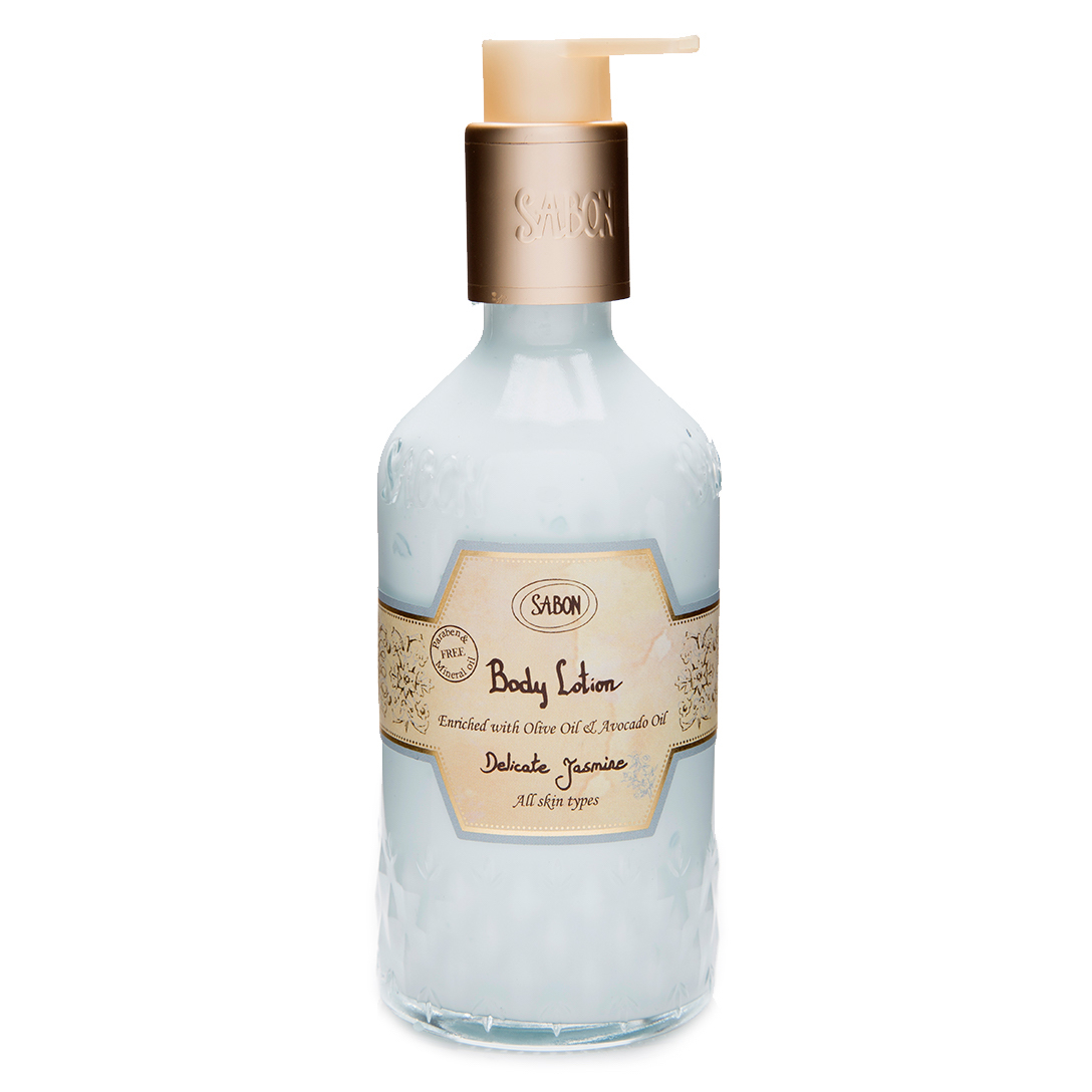 Body Lotion Bottle - Delicate Jasmine