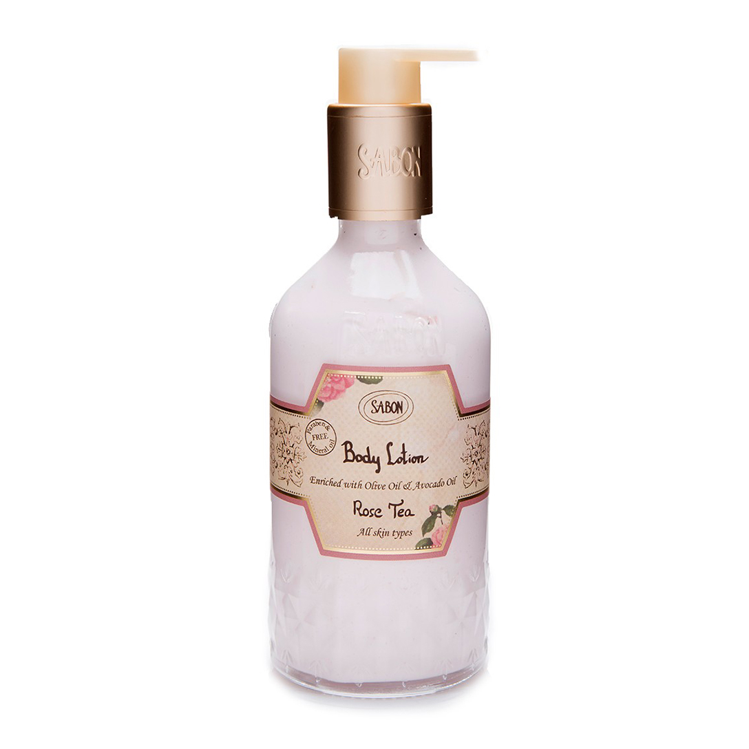 Body Lotion Bottle - Rose Tea