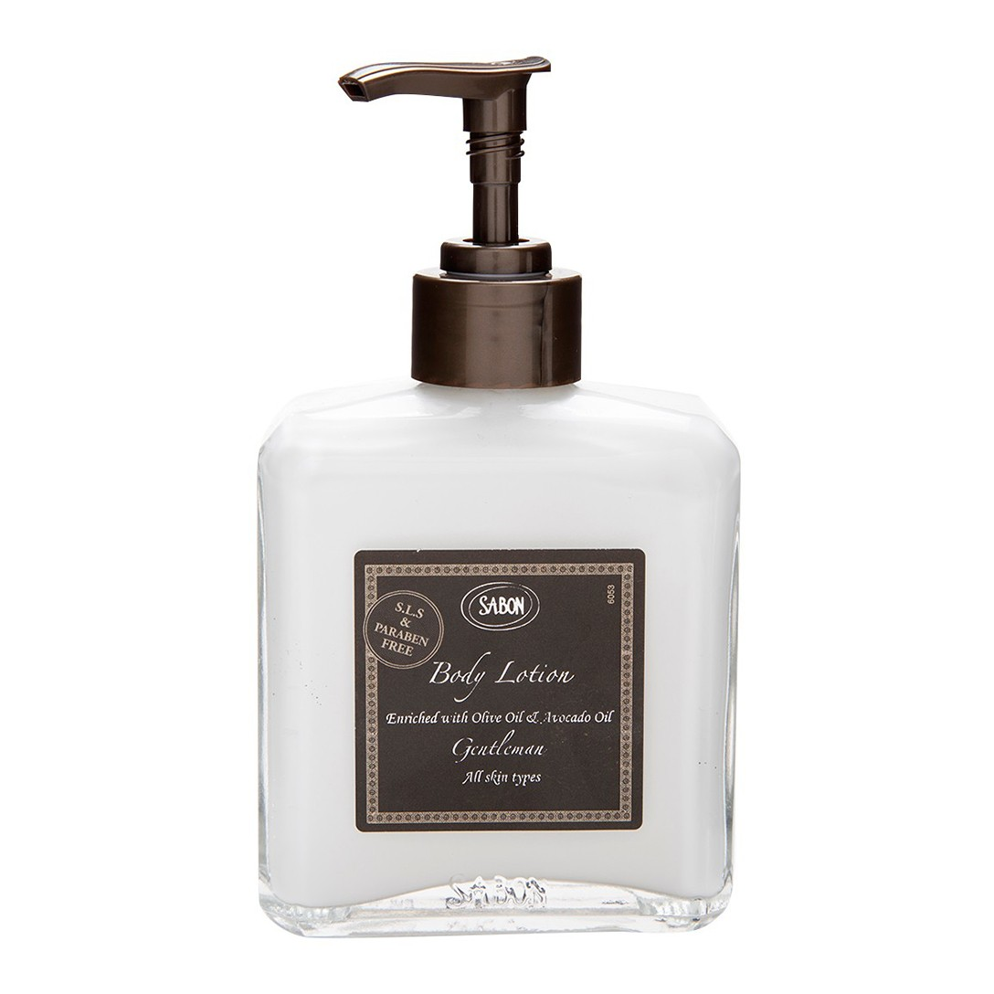 Body Lotion Bottle - Gentleman