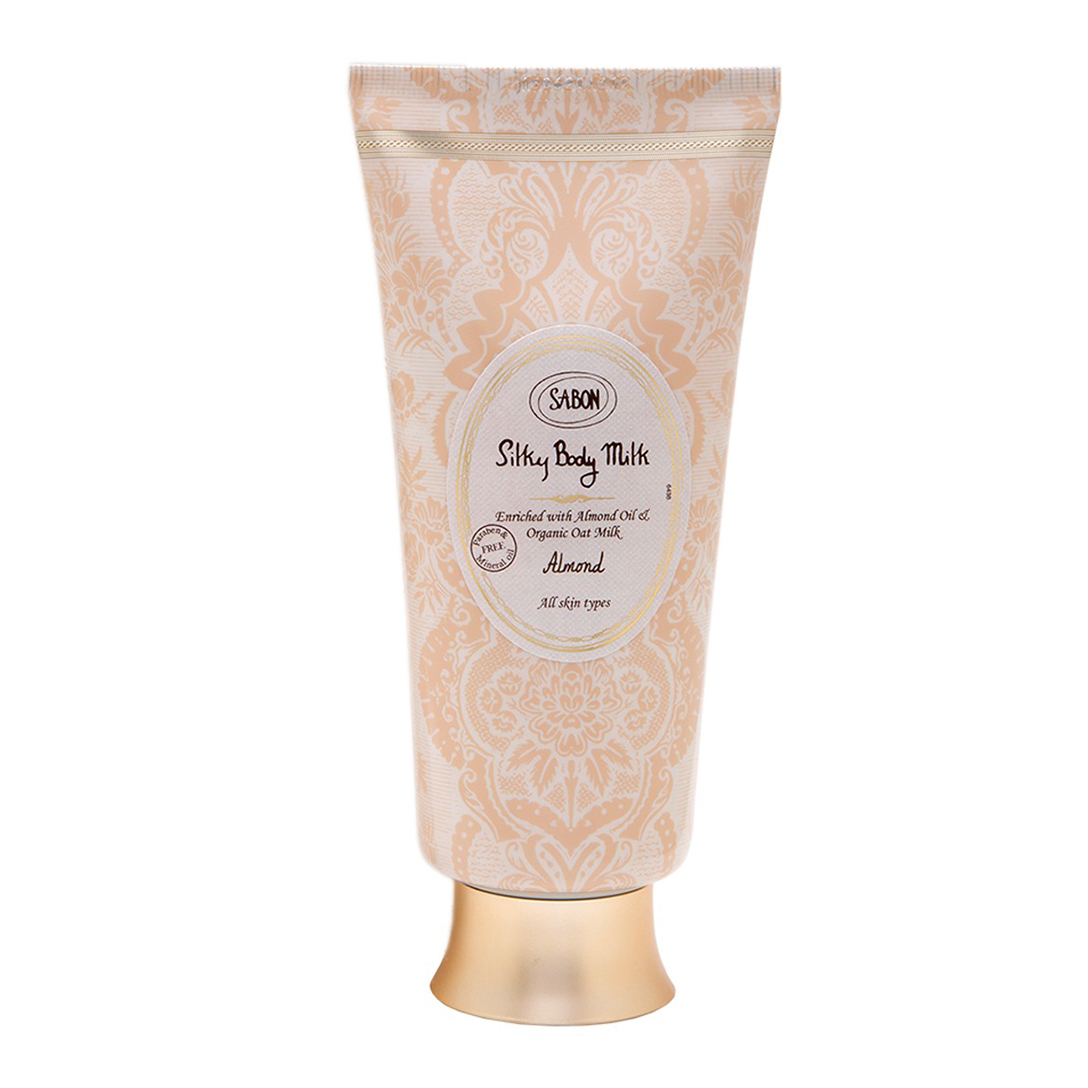 Silky Body Milk Tube - Almond