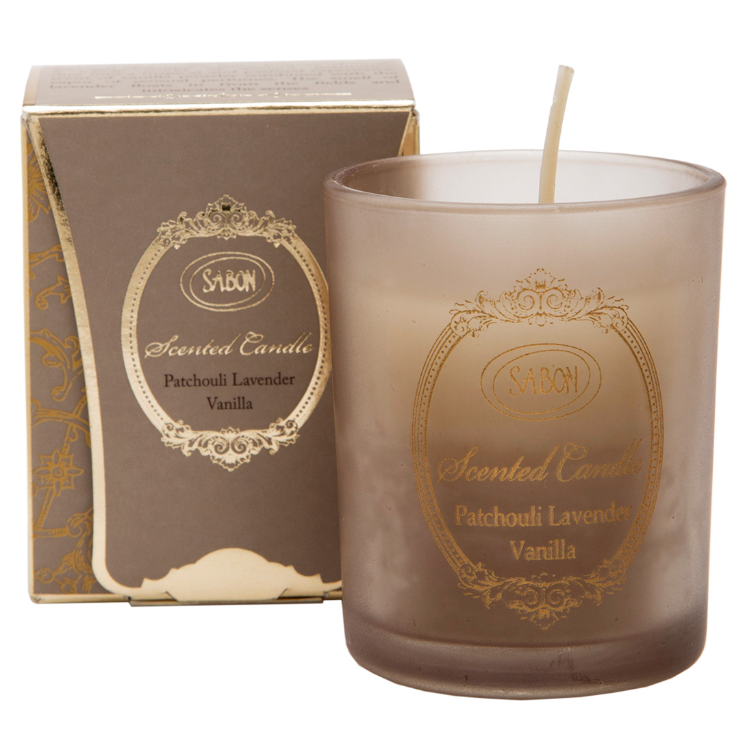 Mini Luxury Candle  - Patchouli Lavender Vanilla