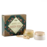 Miracle of Green Rose Gift Set
