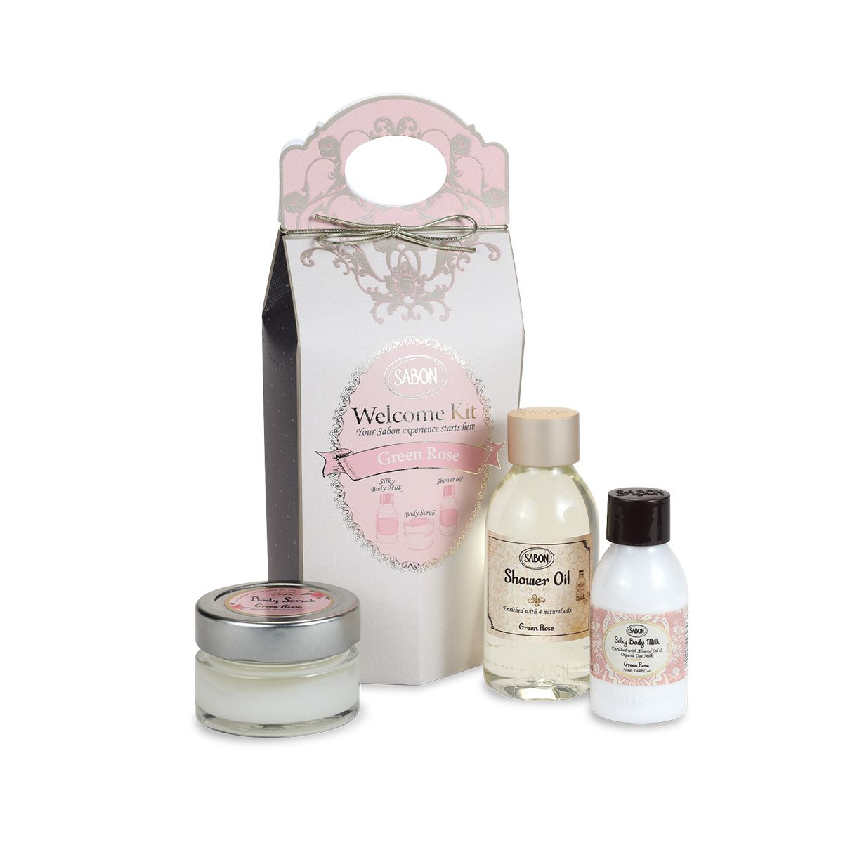 Welcome Kit - Green Rose