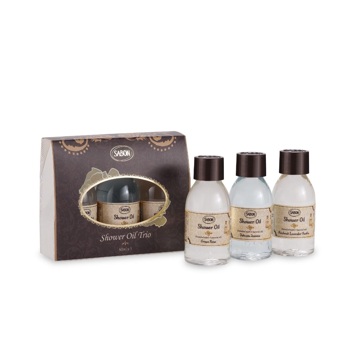 Shower Oil Trio Gift Set