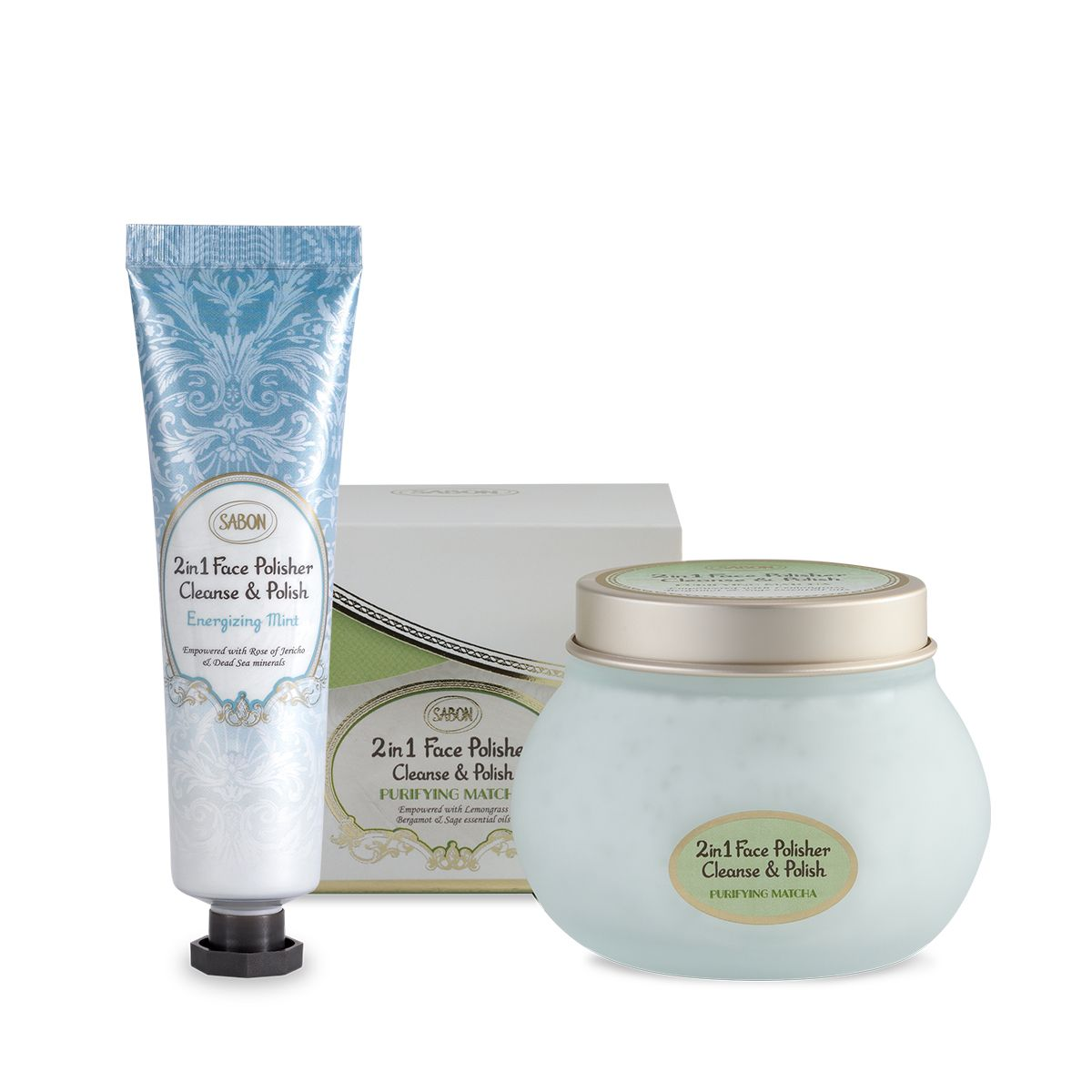 Purifying and Energizing Face Care Duo