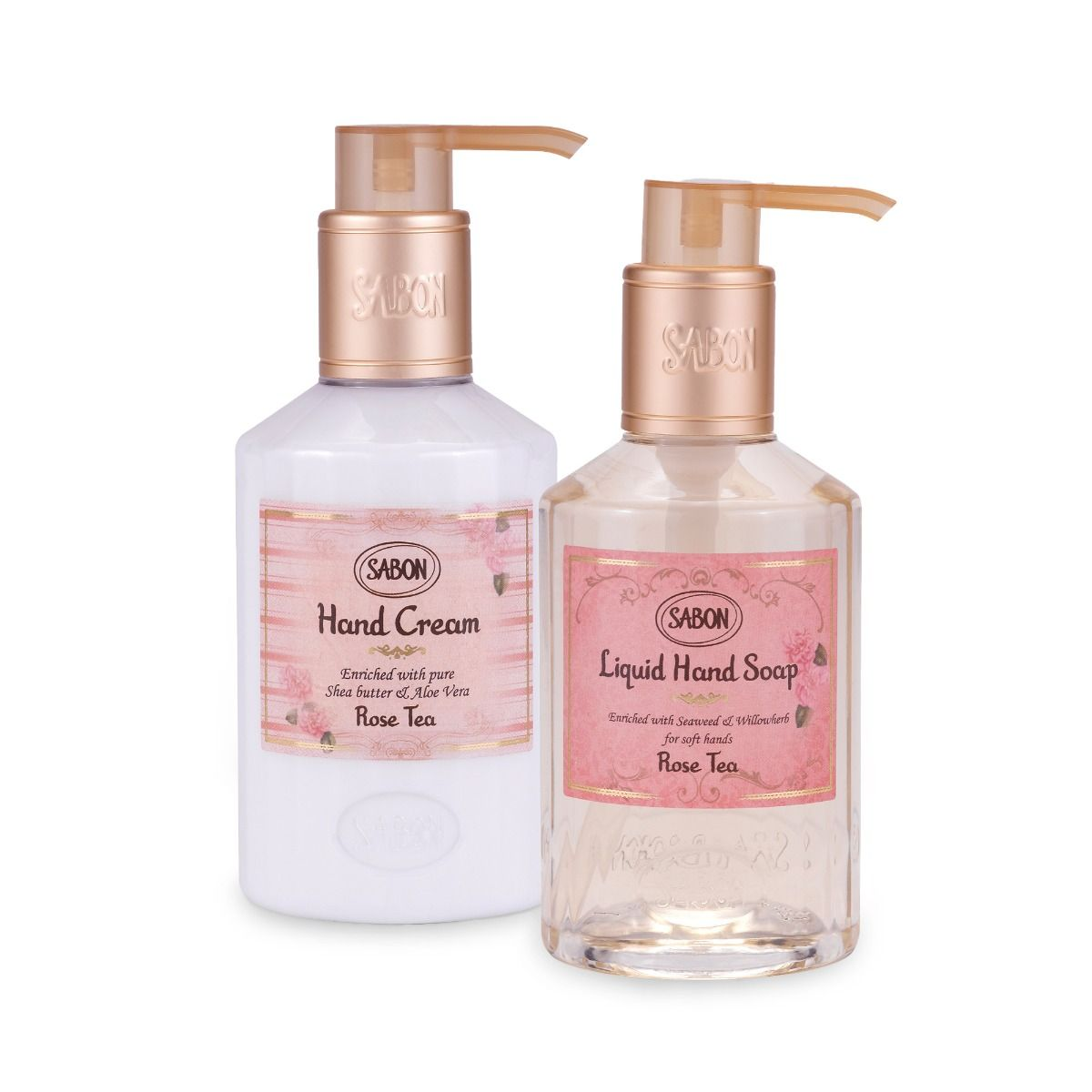 Rose Tea Hand Care Duo