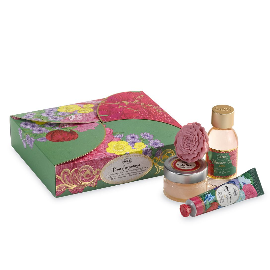 New Beginnings Floral Bloom Gift Set
