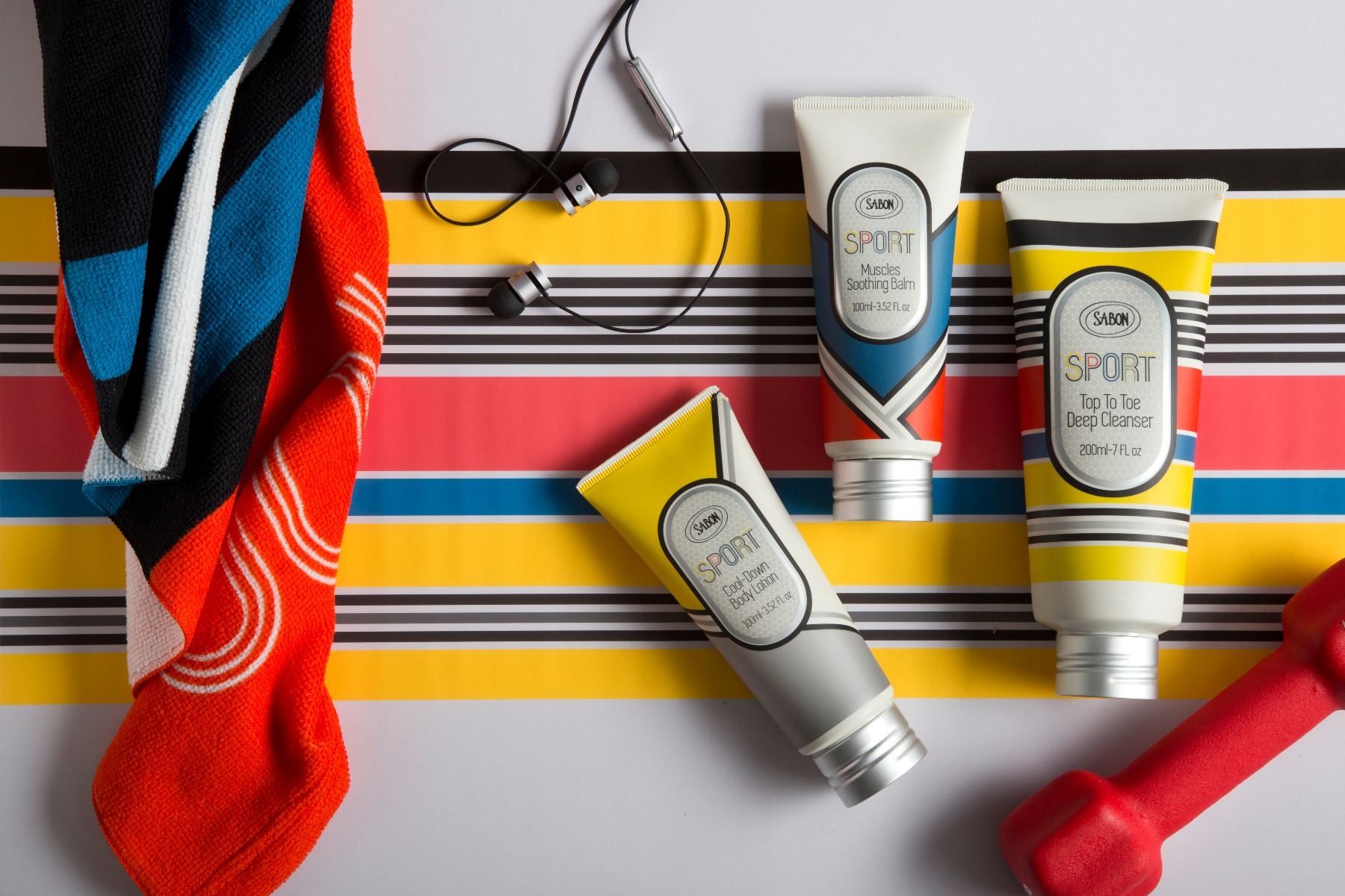 3 Steps to Feel Fit and Fresh with Sabon Sport!